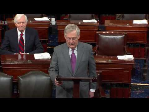 McConnell Honors Cochran on Becoming 10th Longest-Serving Senator