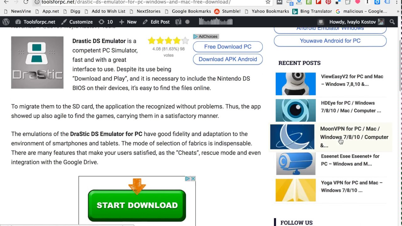 desmume emulator free download for mac