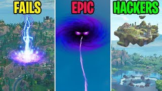 The Portal BLASTS Tilted Towers! FAILS vs EPIC vs HACKERS - Fortnite Funny Moments