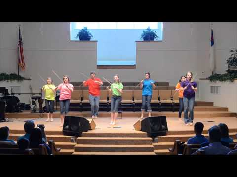 Lord of the Dance - Villa Heights Baptist Youth Dowel Rod Ministry Team - Roanoke