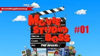 Movie Studio Boss The Sequel First look EP 1  ScottDogGaming HD