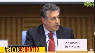 #STATOCORROTTO m5s - Intervento integrale di Nino Di Matteo