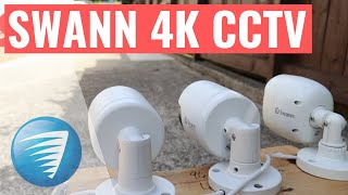 Swann 4K Security Camera System Review DVR-5580 Unboxing, Setup, Installatio, Resolution Comparison