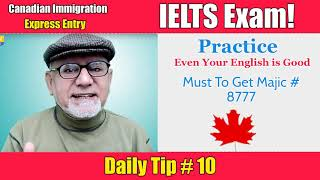 Express Entry | Daily Tip 10 | IELTS Exam