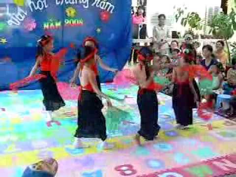 Truong MG Ninh Thuy - Trung Thu 2008 - Mua Quat Bac Bo
