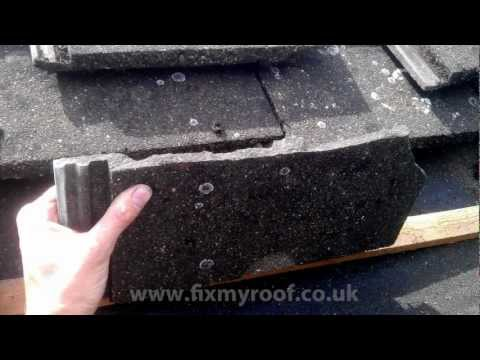 How to REPLACE A ROOF TILE - How to change a leaking roof tile.wmv