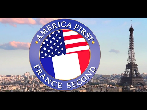 America first, France second