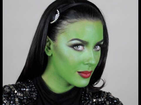 wicked witch tutorial  youtube