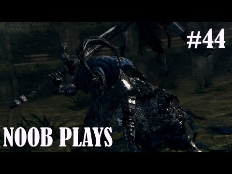 A Noob Meets the Sanctuary Guardian (Artorias of the Abyss DLC) - Dark Souls Part 44