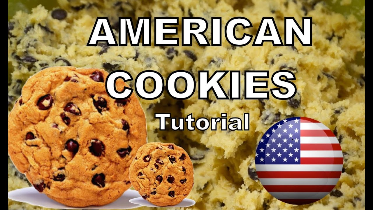 american cookies rezept leicht und lecker youtube. Black Bedroom Furniture Sets. Home Design Ideas