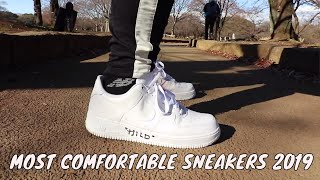 TOP 10 MOST COMFORTABLE SNEAKERS (MID-2019) // CARLO OPLE