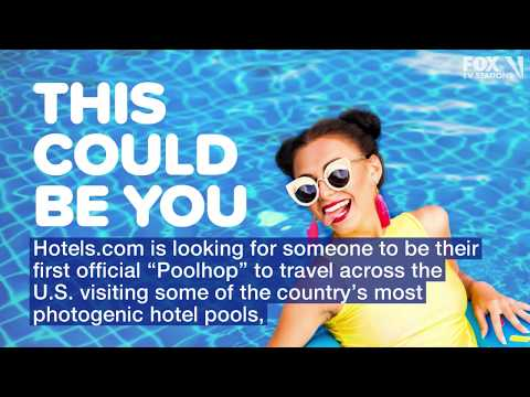 Craig Stevens - Need a summer job? Hotels.com will pay you $10,000 to pool hop