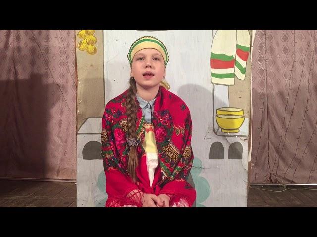 Изображение предпросмотра прочтения – ДарьяРазуева читает произведение «Алеша Попович и вороны кощея» (Русский фольклор )