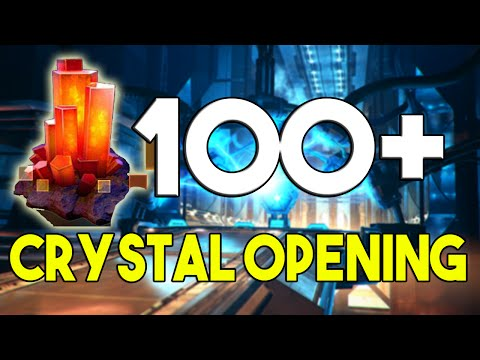 Transformers Earth Wars #6 - MASSIVE 100+ CRYSTAL OPENING ! Searching for 4 stars Decepticons !