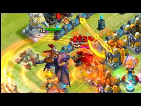 Castle Clash - Gameplay Dracax De Nylou