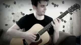 Family Guy Theme on Acoustic Guitar - GuitarGamer (Fabio Lima) Resimi