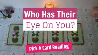 💌Pick A Card: Who Has Their Eye On You?