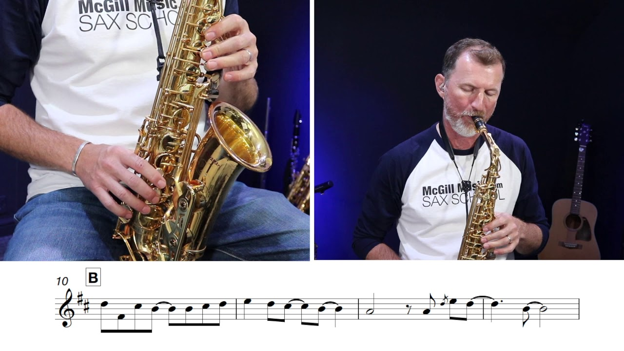 Your Latest Trick sax solo in an EASY key for alto saxophone