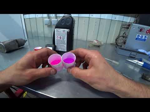 Антифриз Toyota Super Long Life/Тест/Разоблачение литровой упаковки.  Mp4