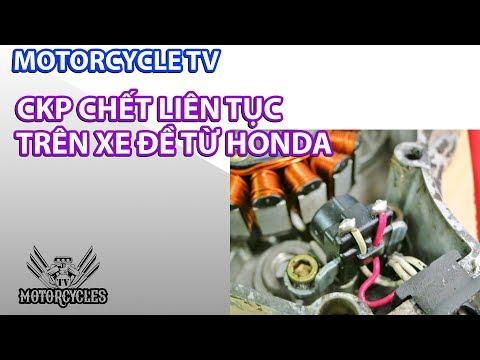 Nổ ECM Và CKP Trên Xe Honda Đề Từ 100% Sẽ Bị