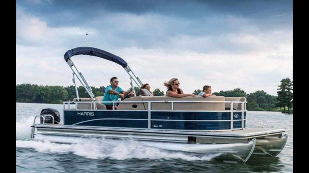 2016 Harris Pontoons Omni 200 Pontoon Boat For Sale At Marinemax