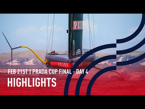 PRADA Cup Final Day 4 Highlights