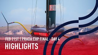 PRADA Cup Final Day 4 Highlights