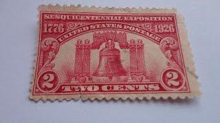 Compilation Of U.S.Rare Postage Stamp Videos