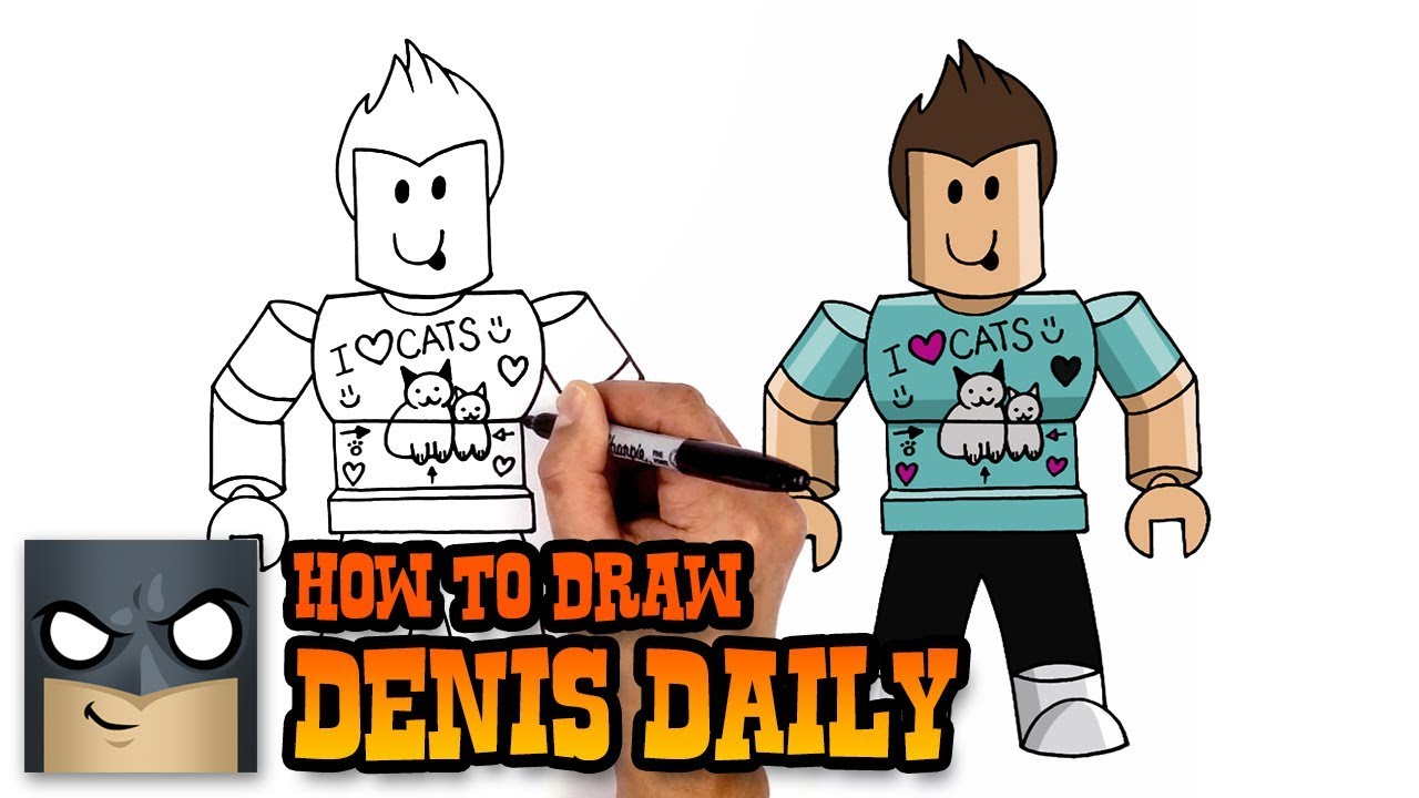 Drawing Of Roblox Character Angelbaumz Youtube How To Draw Builderman Roblox Drawing Videos Step By Step Youtube