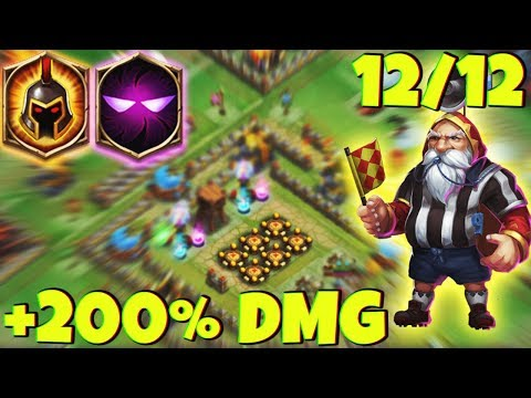 12/12 WARLOCK | 7 Unholy Pact - 8 WG | The FORGOTTEN SNIPER | CASTLE CLASH