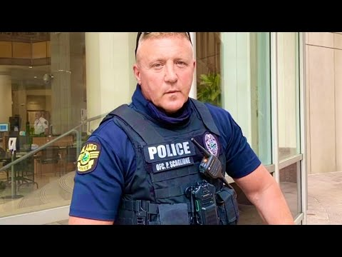 Orlando Officer goes insane over man with camera after id refusal (EPIC FAIL)