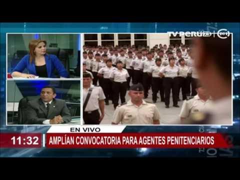 Inpe amplia convocatoria nacional para el puesto de agentes penitenciarios