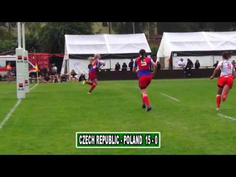 Women's European 7's Championship 2013 Division A Prague Repubblica Ceca - Polonia: 15 - 0