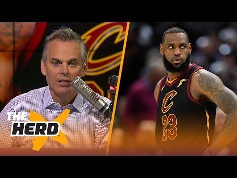 Colin Cowherd on LeBron and Ben Simmons after their first games of the 2018 NBA Playoffs | THE HERD