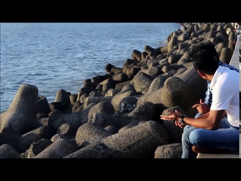ROMANTIC PLACE at MUMBAI !! MARINE DRIVE [HD] Mumbai