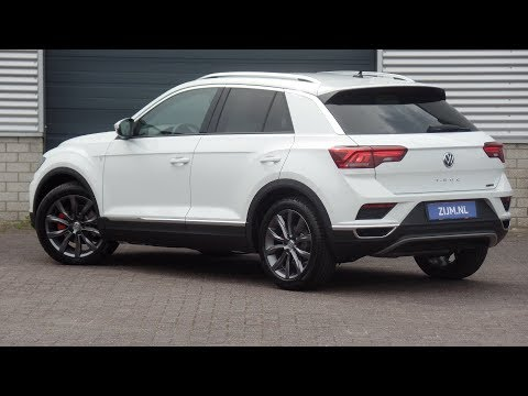 Volkswagen NEW T-roc 2018 Sport Pure White 18 inch Grange Hill Dark walk Around & inside detail