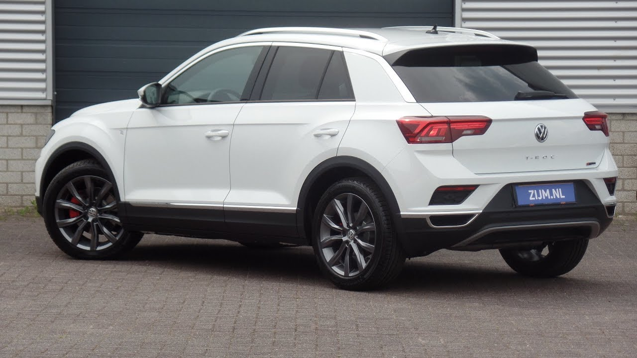 volkswagen new t roc 2018 sport pure white 18 inch grange. Black Bedroom Furniture Sets. Home Design Ideas