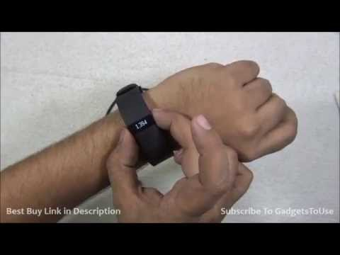 Fitbit Charge HR Unboxing, Review, Features and Overview