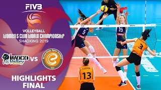 FINAL: Imoco vs. Eczacibaşi - Highlights | Women's Volleyball Club World Champs 2019