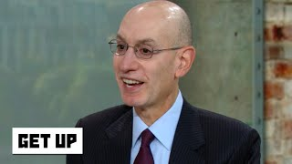 Adam Silver on competitive balance, analytics and the likelihood of adding a 4-point shot | Get Up