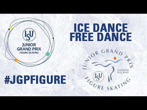 Ice Dance Free Dance - GDANSK 2017