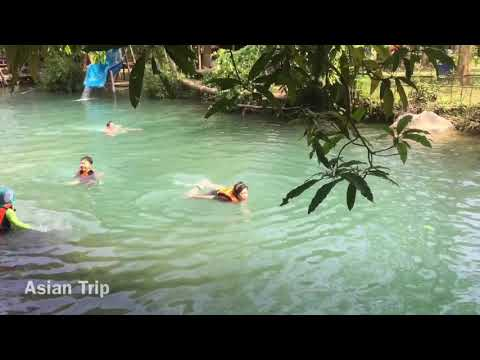 Blue Lagoon Vang Vieng Laos Travel 2018