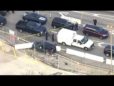 SUV stopped after shooting at National Security Agency campus - Fort Meade Maryland
