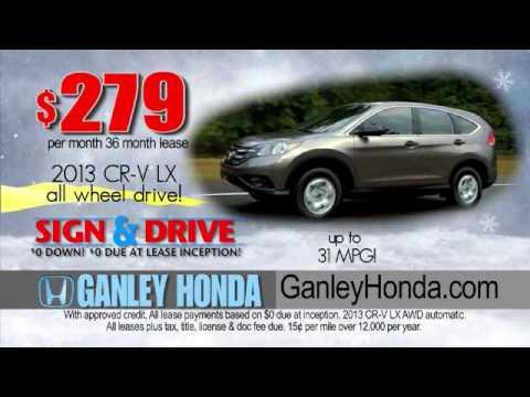 Ganley Honda CRV Commercial