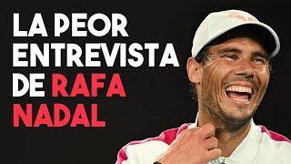 LA PEOR ENTREVISTA DE RAFA NADAL   El rey de Roland Garros (PARODIA)   YTPH