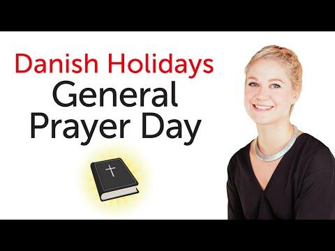 Danish Holidays - General Prayer Day - Store bededag