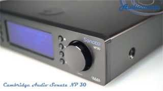 Сетевой проигрыватель Cambridge Audio Sonata NP 30
