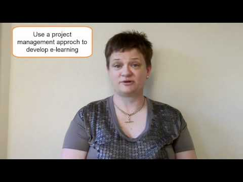 10: Managing E-Learning Projects