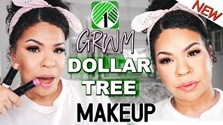 TESTING NEW DOLLAR TREE MAKEUP! Dollar Store Makeup Get It OR Forget It?!?! Sensational Finds