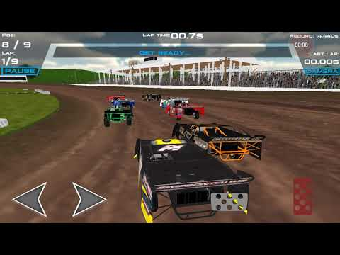 Brownstown Speedway race